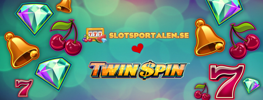 Twin spins slot banner